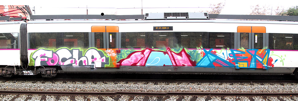 focha | yow | kenor | train | barcelona