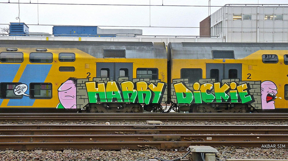 harry | dickie | train | hague | netherlands