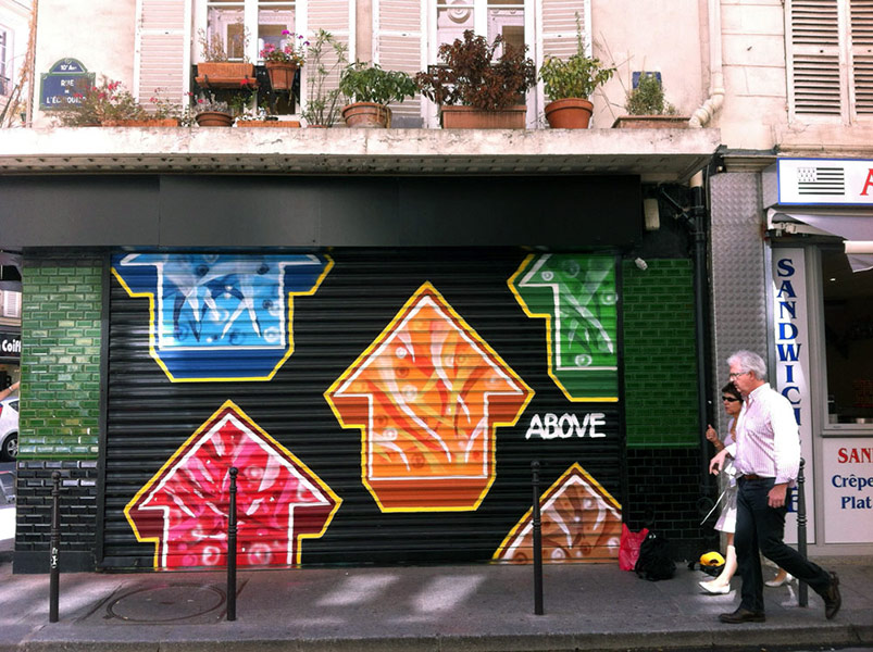above | shutters | paris