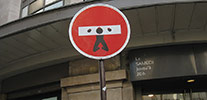 clet-abraham | roadsign | paris (6 votes)