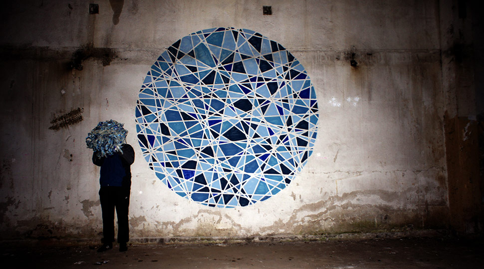 seikon | blue | geometry | poland