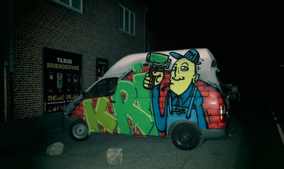 krik | truck | night | copenhagen | scandinavia
