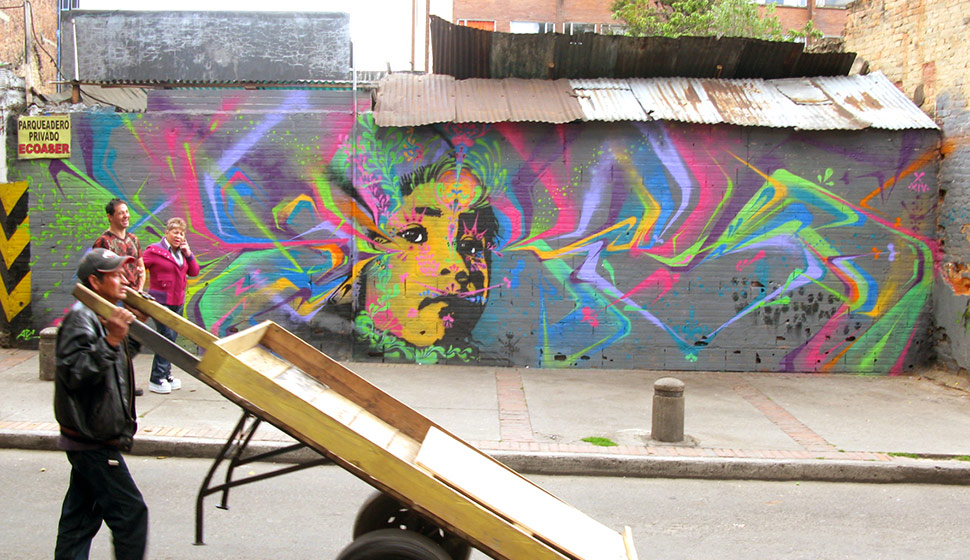 Street Art By Djlu Bogota Colombia Streetart And Graffiti