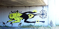 doodles | fluo | bridge | oakland | california (7 votes)