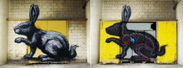 roa | rabbit | gent | belgium | summer10 (125 votes)