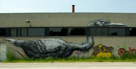 roa | bird | gent | belgium (25 votes)