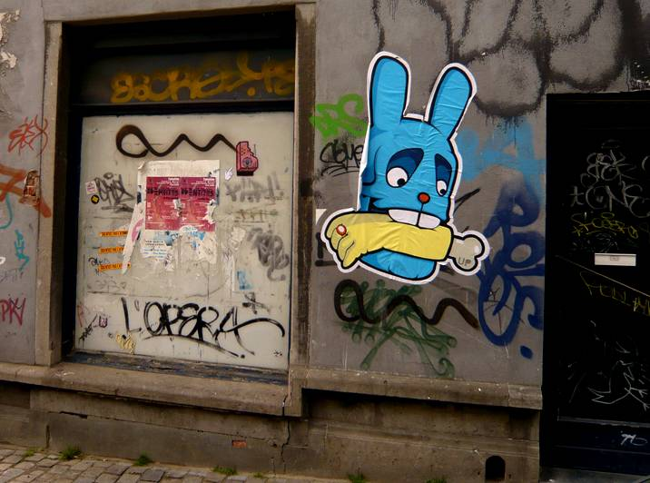 kulk | lafinekip | food | rabbit | blue | bruxelles | belgium