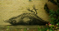 roa | bird | doel | belgium (18 votes)