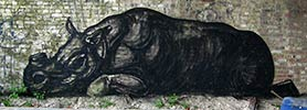 roa | rhinoceros | belgium (11 votes)