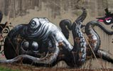 roa | octopus | belgium (51 votes)