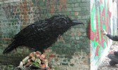 roa | bird | belgium (6 votes)