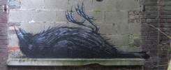 roa | bird | belgium (8 votes)