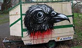 roa | bird | caravan | belgium (12 votes)