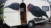 roa | bird | caravan | trailer | belgium (34 votes)