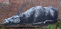 roa | redbricks | belgium (11 votes)