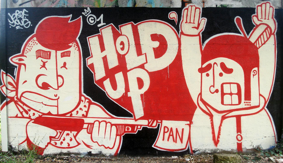 holdup | bref | youg | red | bordeaux