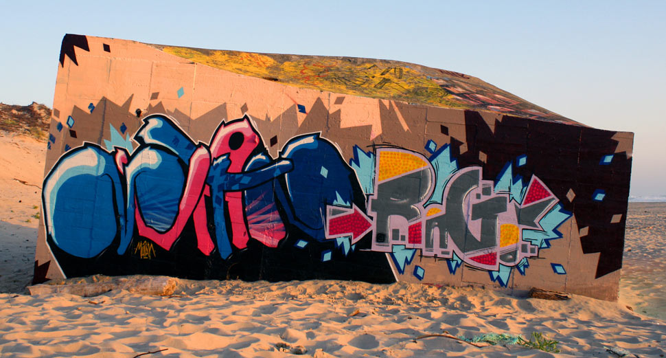 mutant | rago | les-copaintres | cap-ferret | blockhaus | france