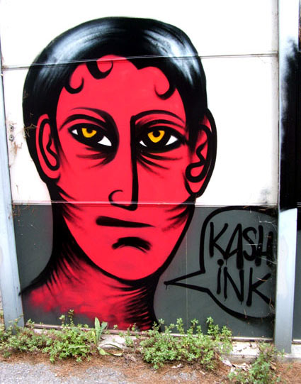 kashink | red | antibes | france