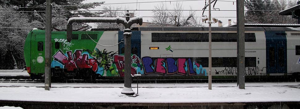 buono | grebe | rebel | kaio | snow | train | italy