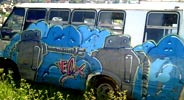yeox | poesiavisual | blue | bus | mexico (65 votes)