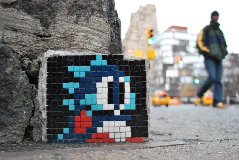 spaceinvader | nyc
