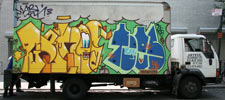 osgemeos | toes | truck | nyc (48 votes)
