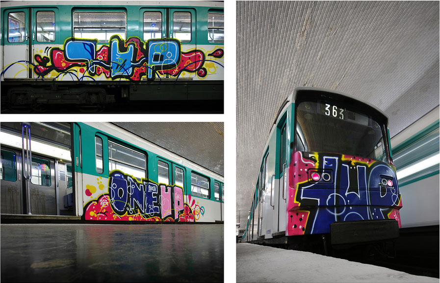 1up | subway | paris