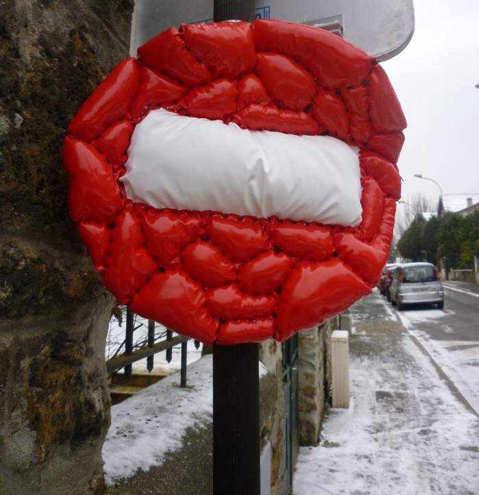 david-gouny | roadsign | 3-d | paris
