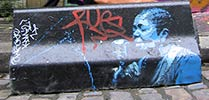 doctor-h | paris | blue | stencil (36 votes)
