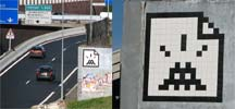 spaceinvader | paris (18 votes)