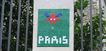 spaceinvader | paris (28 votes)