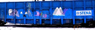 eremiterna | freight | blue | snow | sweden | scandinavia (1 vote)