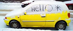 ohlala | snow | car | yellow | helsinki | finland | scandinavia (62 votes)