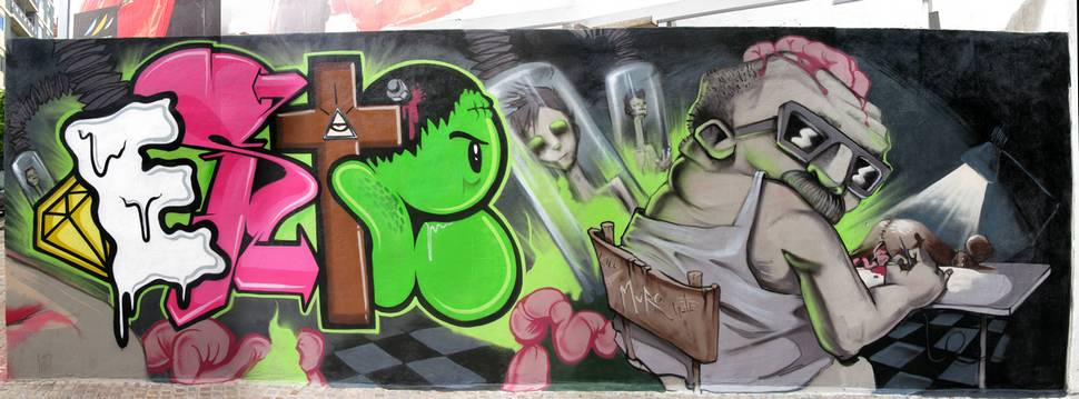 este | muro | spain