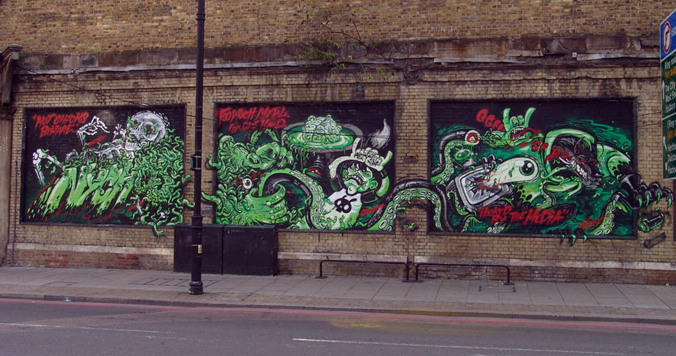 nychos | green | london | ukingdom