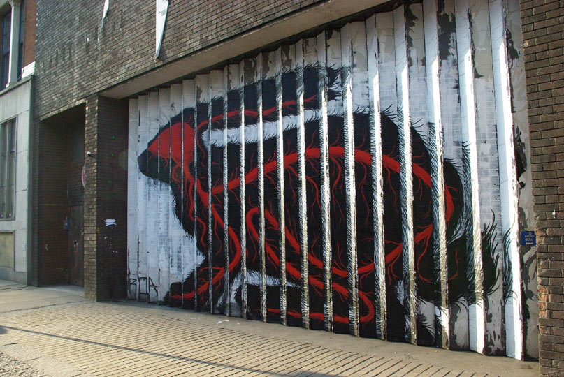 roa | rabbit | london | ukingdom