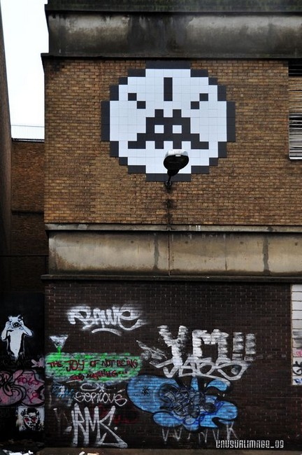 spaceinvader | london | ukingdom