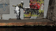 banksy | water | london | ukingdom (56 votes)