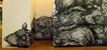 roa | rat | brick-lane-gallery | london | ukingdom (24 votes)