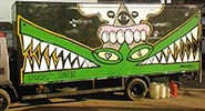 rowdy | cyclops | sweettoof | truck | crocodile | various (14 votes)