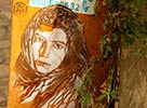 c215 | orange | tel-aviv | israel | portrait | stencil | various (38 votes)
